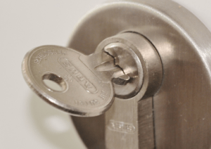 opening lock with key